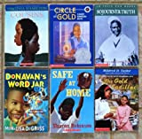img - for African-American Literature for Children: Set of 6 Chapter Books (Cousins ~ Circle of Gold ~ The Gold Cadillac ~ Sojourner Truth (In Their Own Words) ~ Safe at Home ~ Donavan's Word Jar) book / textbook / text book