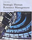 img - for Strategic Human Resource Management, Custom Edition for St. Mary's University Business Admin. 6355 book / textbook / text book