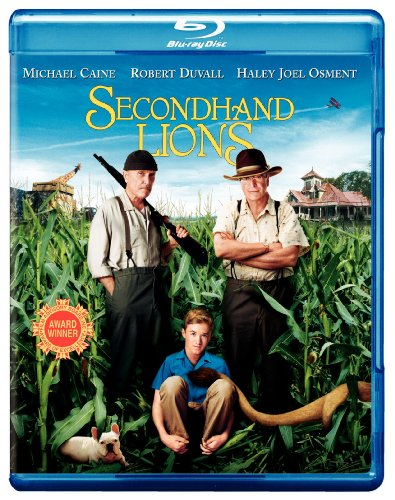 Cover art for  Secondhand Lions [Blu-ray]