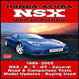 R. M. Clarke Honda Acura NSX Ultimate Portfolio 1989-2005 (Brooklands Books Road Test Series)