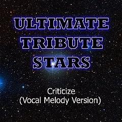 Adelitas Way - Criticize (Vocal Melody Version)