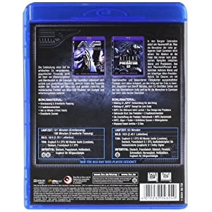 Alien Vs. Predator 1&2 Box (2 Bd-K) [Blu-ray] [Import allemand]