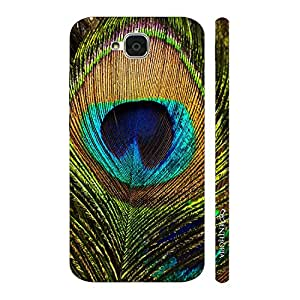 Enthopia Designer Hardshell Case Peacock pankh Back Cover for Huawei Honor Holly 2 Plus