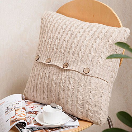 ebuygo-sh-cotton-aran-knit-throw-pillow-caseknitted-cushion-cover-for-home-sofa-18-x-18-beige
