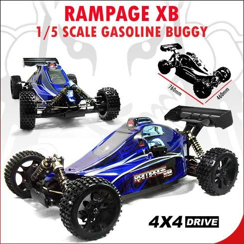 Rampage Xb Buggy ~ 1/5 Scale rc car
