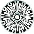 """Radzierblenden Radkappen Radabdeckung 17"""" Zoll #906 SILBER SCHWARZ von ZentimeX auf Reifen Onlineshop"""