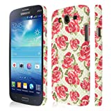 Empire Signature Series Slim Fit Case for Samsung Galaxy Mega 5.8 I9152/I9150 - Vintage Red Roses