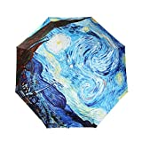 UV Umbrella For Women,LifeVC® Folding Sun Umbrella UV Protection,Rain Umbrella (Automatic)