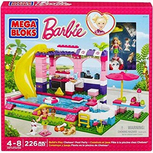 Mega Bloks Barbie Chelseas Pool Party 4+ jetzt kaufen