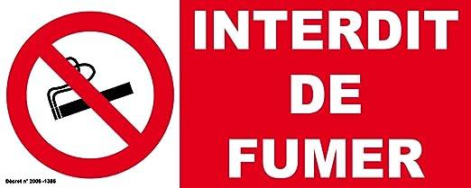 autocollant interdiction de fumer gratuit. Black Bedroom Furniture Sets. Home Design Ideas