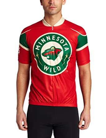 NHL Minnesota Wild Mens Cycling Jersey by VOmax