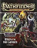 img - for Pathfinder Adventure Path: Wrath of the Righteous Part 5 - Herald of the Ivory Labyrinth book / textbook / text book