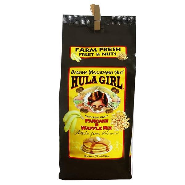 Banana Macadamia Nut Pancake and Waffle Mix