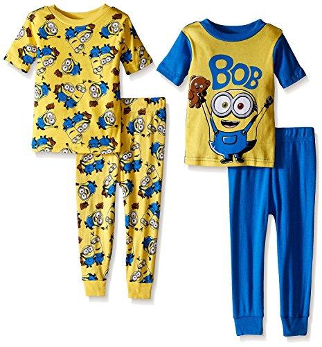 Despicable-Me-Toddler-Boys-4-Piece-Cotton-Pajamas