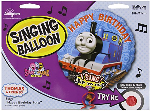 Mayflower 222700 Thomas the Tank Jumbo Singing Foil Balloon