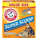 Arm & Hammer Super Scoop Clumping Litter, Unscented, 28-Pound