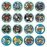 妖怪ウォッチ 妖怪メダル零 vol.1 全16種セット ガシャポン