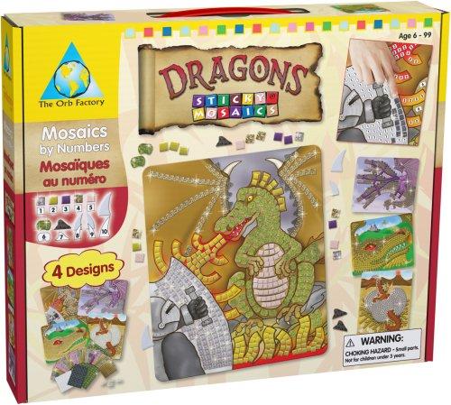 Orb Factory Sticky Mosaics: Dragons