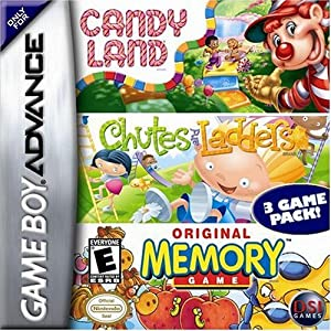 Candy Land games: GameBoy Advance edition!
