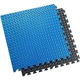 Sivan Health and Fitness® Puzzle Exercise Mat High Quality EVA Foam Interlocking Tiles