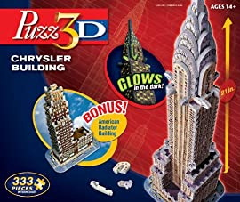 Puzz3D Chrysler Building with Bonus American Radiator Building