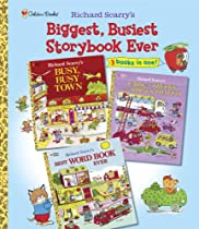 Richard Scarry's Biggest, Busiest Storybook Ever (Picture Book)