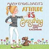 Mary Engelbreit Mary Engelbreit 2016 Mini Wall Calendar: Attitude Is Everything