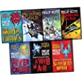 Philip Reeve Mortal Engines Predator Cities 7 Books Collection Pack Set RRP: �49.93 (Mortal Engines, Predator's Gold, Infernal Devices, A Darkling Plain, Fever Crumb, A Web of Air, Scrivener's Moon)