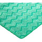 Rubbermaid Commercial FGQ64000GR00 HYGEN Microfiber Extra-Large General Purpose Cloth, Green