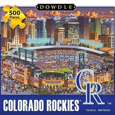 Jigsaw Puzzle - Colorado Rockies 500 Pc By Dowdle Folk Art