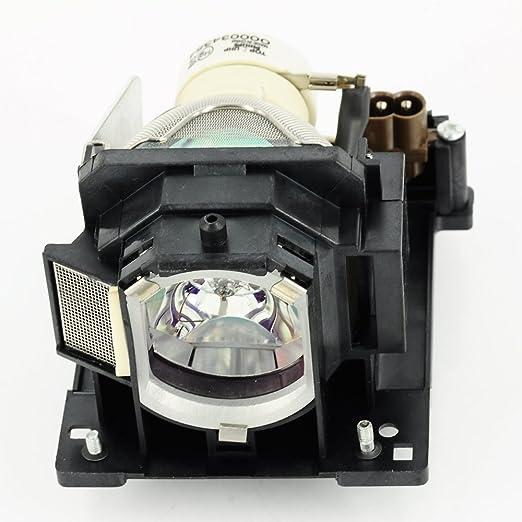 haiwo DT01123de haute qualité Ampoule de projecteur de remplacement compatible avec boîtier pour Hitachi cp-d31N, ImagePro 8112.