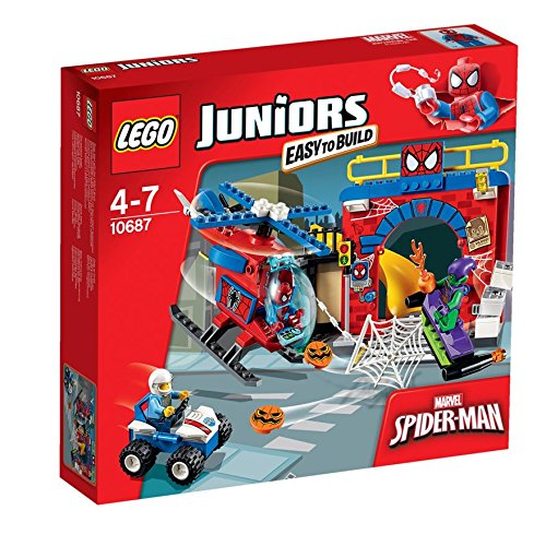 LEGO Juniors Marvel Super Heroes Spider-Man nascondiglio 10687