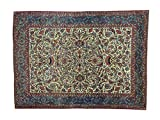 Antique Persian Kashan Mint Cond Hand-Knotted Oriental Rug (10'7
