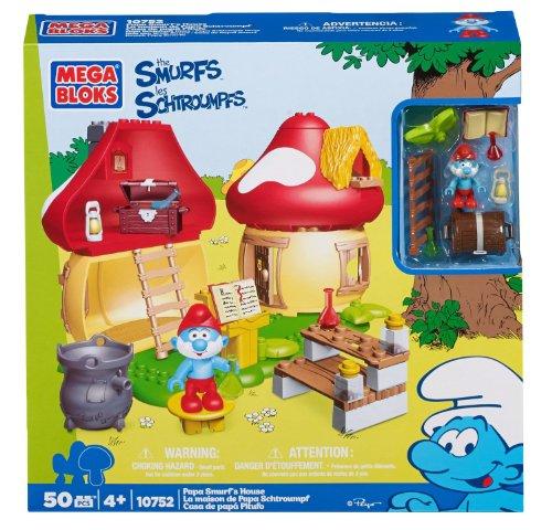 Mega Bloks 10752 - Papa Schlumpfs, schlumpfiges Häuschen