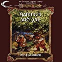 Hammer and Axe: Dragonlance: Dwarven Nations, Book 2 Audiobook by Dan Parkinson Narrated by Allen O'Reilly