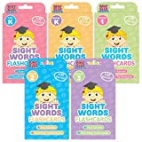 The Ready Readers Bundle: 500 Sight Words in 5 Packs of Flashcards from Pre K to Third Grade by Pint-Size Scholars