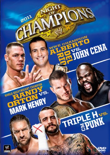 WWE night of / Champions 2011 [DVD]