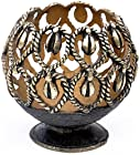 SouvNear Christmas Gifts - Handmade Candle Stand Lantern / Tealight Holder in Bronze Metal - Dhokra Art - A Very Unique Holiday Gifts and Handmade Tribal Decor from India