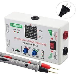 TKDMR 0-330V Smart-Fit Manual Adjustment Voltage TV LED Backlight Tester Current Adjustable Constant Current Board(LED Driver Board Test) LED Lamp Beads Test Detect Tool