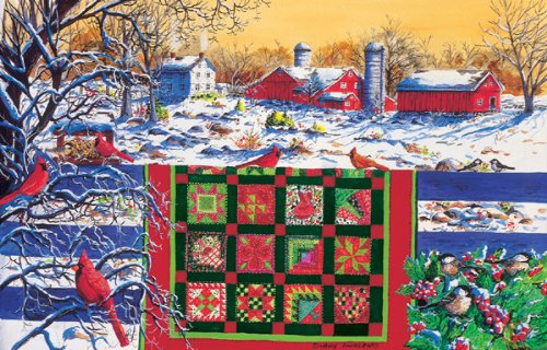 Winter Patchwork - 1000pc By Sunsout - 1