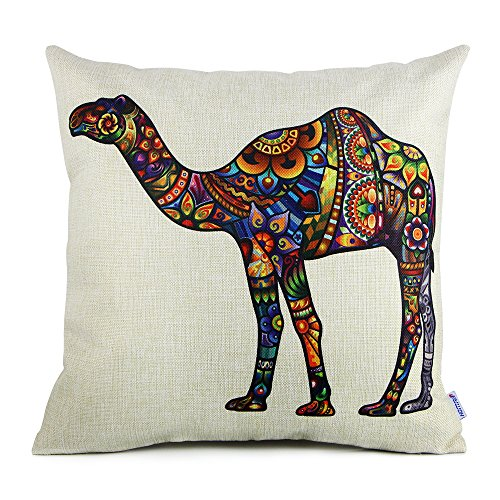 18-x-18-standard-size-camel-print-pattern-decorative-pillow-case-cushion-covers