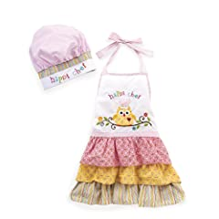 Twos Company Happi Child Apron with Adjustable Chef Hat