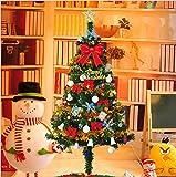 Xmas 豪華クリスマスツリー オーナメントセット 150cm  ゴールド風 Christmas tree 電球色LED イルミネーション 飾り アニメ専線