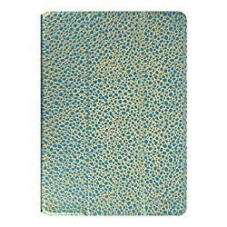 Hermitshell New PU Leather Tyrant King Spots Dot pattern Smart Case Cover with Flip Stand for Apple iPad Air2 iPad 6 Color: Sky Blue