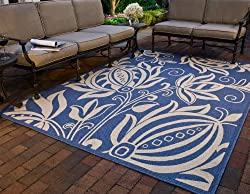 Andros Indoor Outdoor Polypropylene 5' 3 x 7' 7 Rug
