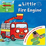 Igloo Books Ltd Little Fire Engine: Book with Play Track and Toy! (Busy Day Board Book)