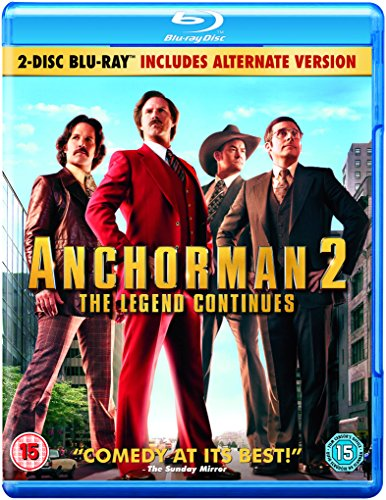 Anchorman: the Legend Continue [Edizione: Regno Unito]