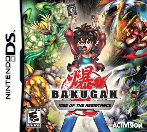Bakugan: Rise of the Resistance - Nintendo DS - 1