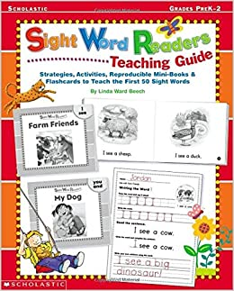 Words & the 50 (Sight sight word Books Word books Teach  Sight Flashcards scholastic to First