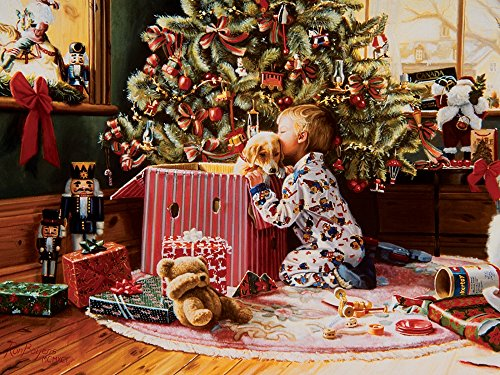 Cobble Hill Christmas Morning Jigsaw Puzzle, 500-Piece